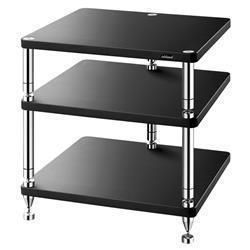 Rack per elettroniche e stand per diffusori bookshelf Solidsteel
